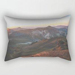 View from Wetterhorn Peak Rectangular Pillow