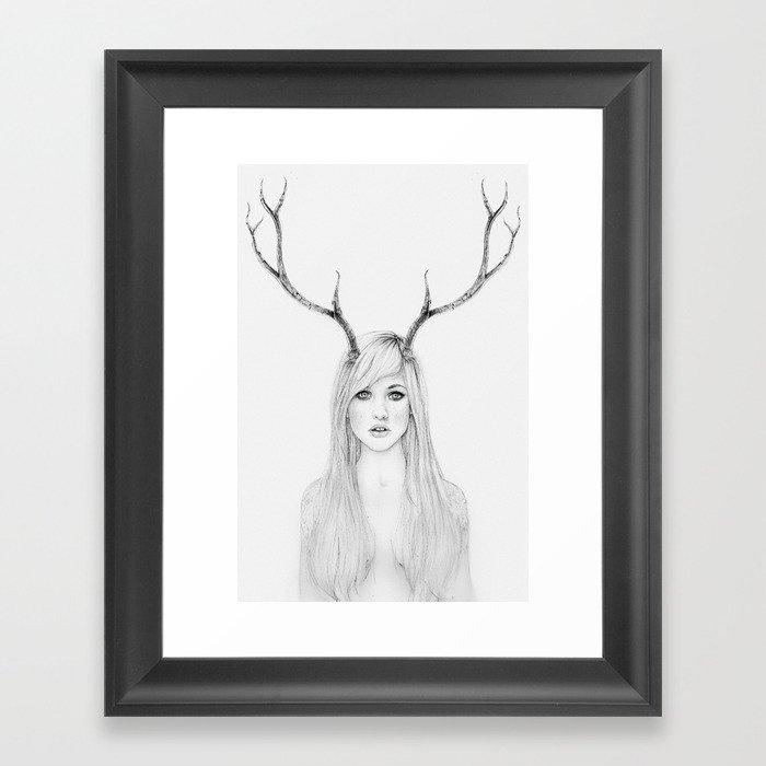 La Belle Degout Framed Art Print