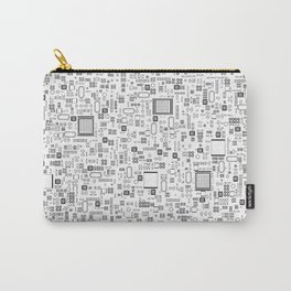 All Tech Line / Highly detailed computer circuit board pattern Carry-All Pouch