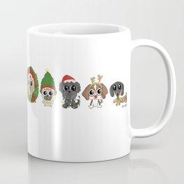 Christmas Puppies Coffee Mug