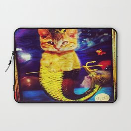 mermaid kitty Laptop Sleeve