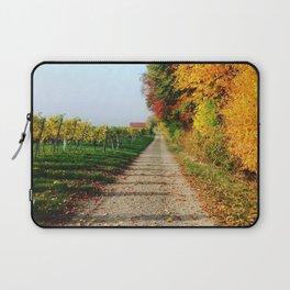 Autumn Chemin Nature Laptop Sleeve