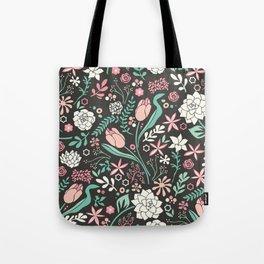 Tulip flowerbed Tote Bag