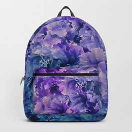 Hibiscus Flower Pattern Backpack
