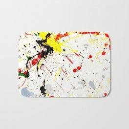 Paint Splatter Bath Mat