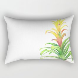 Bromeliad - Tropical plant Rectangular Pillow