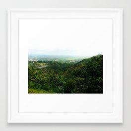 Atalaya @ Puerto Rico Framed Art Print