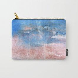 Corn flower blue vague watercolor Carry-All Pouch