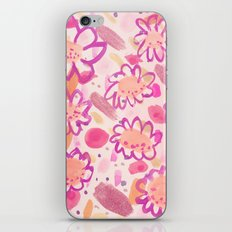 Funky Flowers iPhone & iPod Skin