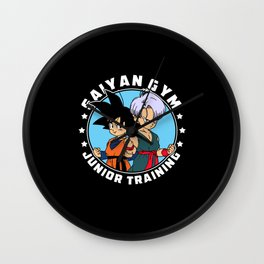 Anime Gym - Junior Training Wall Clock
