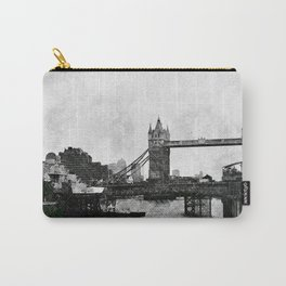 Life on the Thames - London, England Carry-All Pouch