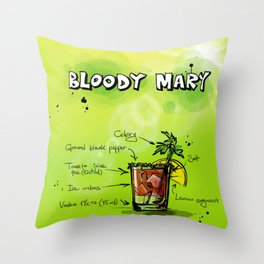 BloodyMary_002_by_JAMFoto Throw Pillow