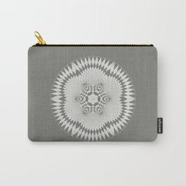 flower of life, alien crop formation, sacred geometry Carry-All Pouch