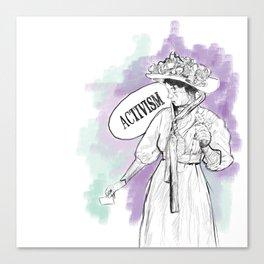 Suffragette Canvas Print