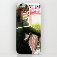 valentina iPhone & iPod Skins featuring VALENTINA by Rayane Guedes XII