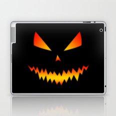 Cool scary Jack O'Lantern Halloween Laptop & iPad Skin