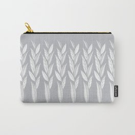 Eternity in Silver Leaf Carry-All Pouch