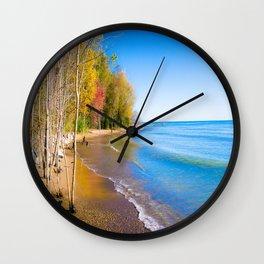 Somewhere Baby Wall Clock