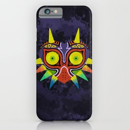 Majora's Mask Splatter iPhone Case