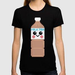 Happy Pixel Milk Tea T-shirt