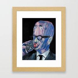 Value free and globalised. Framed Art Print