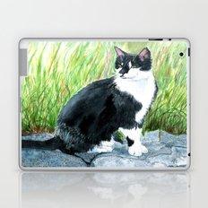 Louie the Tuxedo Cat Laptop & iPad Skin