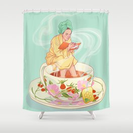 Cure for the common cold Shower Curtain