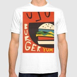 Yum Burger T-shirt