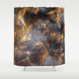 Glassy Refraction 1 Shower Curtain