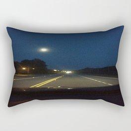 Moonlight Drive Rectangular Pillow