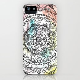 Mandala Watercolor iPhone Case