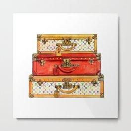 Luggage Metal Print