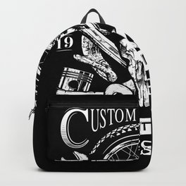 Custom Garage Backpack