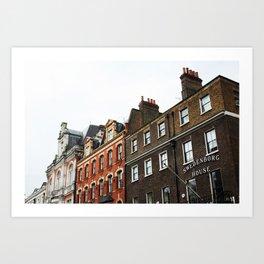 Swedenborg House, London Art Print