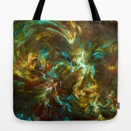 Fractal Space Tote Bag