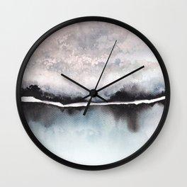 Ice lake Wall Clock
