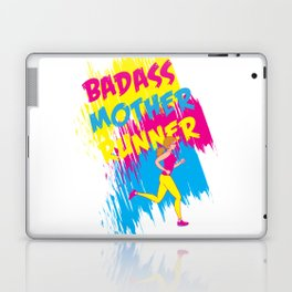Badass Mother Runner Laptop & iPad Skin