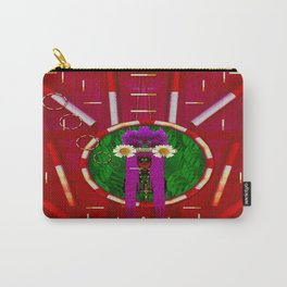 Lady Panda Smoking Hot Carry-All Pouch