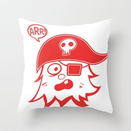 Arr! Throw Pillow
