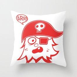 Arr! Throw Pillow
