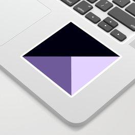 Trinity Color Block Ultra Violet Sticker