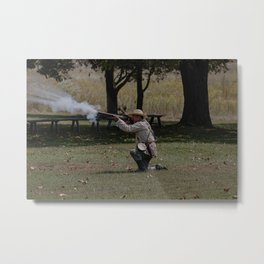 Muzzle flash Metal Print