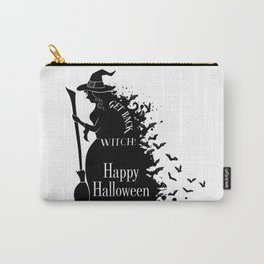 Happy Halloween Party - Get Back, Witch - Perfect Gift Idea. Carry-All Pouch