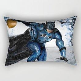 baller bat man Rectangular Pillow
