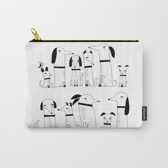 ELEVEN DOGS ONE BIRD Carry-All Pouch