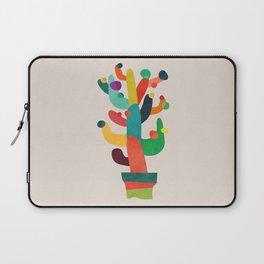 Whimsical Cactus Laptop Sleeve