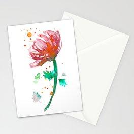 Warm Watercolour Fiordland Flower Stationery Cards