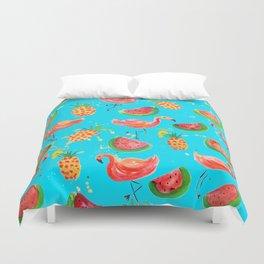 Flamingo Tropical Duvet Cover