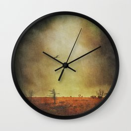 stormland hunter Wall Clock