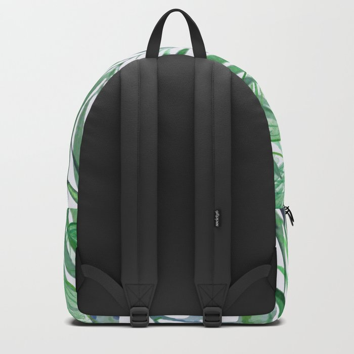 Tropical  Leaves Rucksack
